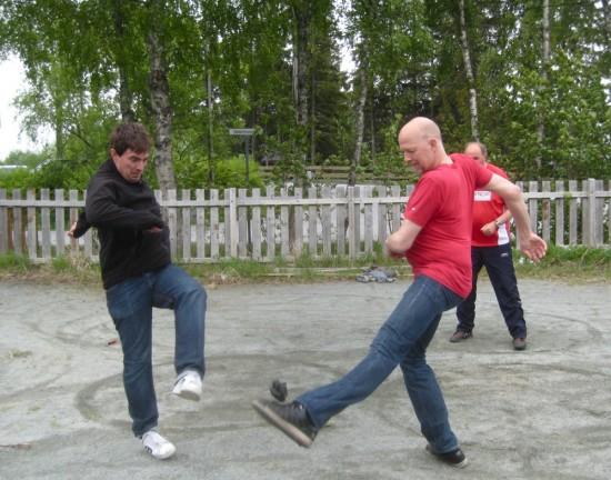 Fra gruppespillet i Lian Open 2010.